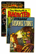 Golden Age (1938-1955):Horror, Assorted Pre-Code Horror Comics Group (Various Publishers, 1952-54)Condition: Average GD/VG.... (Total: 8 Comic Books)