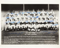 Autographs:Photos, 1961 New York Yankees Team Signed Photograph. ...