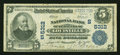 National Bank Notes:Kentucky, Louisville, KY - $5 1902 Plain Back Fr. 607 The NB of Kentucky Ch.# (S)5312. ...
