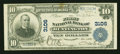National Bank Notes:West Virginia, Huntington, WV - $10 1902 Plain Back Fr. 624 The First NB Ch. #3106. ...