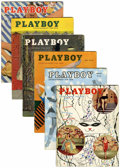 Magazines:Miscellaneous, Playboy Group (HMH Publishing, 1955).... (Total: 11 Items)