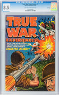 Golden Age (1938-1955):War, True War Experiences #1 File Copy (Harvey, 1952) CGC VF+ 8.5 Lighttan to off-white pages....