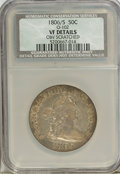 Early Half Dollars, 1806/5 50C --Obverse Scratched--NCS. VF Details. O-102. (#6077)...