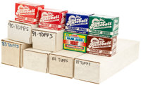 1983-1992 Topps Baseball Complete Sets Lot of 14