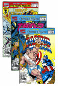 Modern Age (1980-Present):Miscellaneous, Marvel Modern Age Annuals Group (Marvel, 1980s-90s) Condition: Average NM+.... (Total: 44 Comic Books)