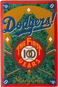 Autographs:Others, Brooklyn and Los Angeles Dodgers Signed Book. ...