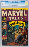 Golden Age (1938-1955):Horror, Marvel Tales #106 (Atlas, 1952) CGC FN- 5.5 Cream to off-whitepages....