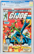Modern Age (1980-Present):War, G. I. Joe, A Real American Hero #1 (Marvel, 1982) CGC NM/MT 9.8White pages....