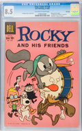 Silver Age (1956-1969):Cartoon Character, Four Color #1128 Rocky and His Friends (#1) File Copy (Dell, 1960) CGC VF+ 8.5 Off-white to white pages....