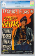 Golden Age (1938-1955):Adventure, Feature Films #1 Captain China (DC, 1950) CGC FN 6.0 Off-white pages....