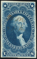 Stamps, $3.50 Inland Exchange, Imperf (R87a),...
