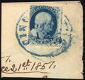 Stamps, 1c Blue, Type Ia (19),...