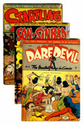 Golden Age (1938-1955):Miscellaneous, Assorted Golden Age Comics Group (Various Publishers, 1943-50).... (Total: 3 Comic Books)
