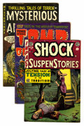 Golden Age (1938-1955):Horror, Assorted Pre-Code Horror Comics Group (Various Publishers, 1951-55)Condition: Average GD.... (Total: 12 Comic Books)