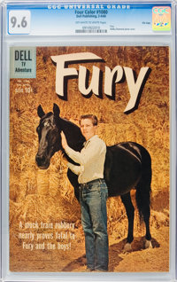 Four Color #1080 Fury - File Copy (Dell, 1960) CGC NM+ 9.6 Off-white to white pages