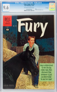 Four Color #1172 Fury - File Copy (Dell, 1961) CGC NM+ 9.6 Off-white to white pages