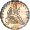 Patterns, 1862 50C Half Dollar, Judd-293, Pollock-351, R.5, PR58 ANACS....