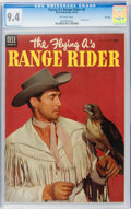 Golden Age (1938-1955):Western, The Flying A's Range Rider #6 File Copy (Dell, 1954) CGC NM 9.4 Off-white pages....
