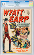 Silver Age (1956-1969):Western, Wyatt Earp #27 (Atlas, 1960) CGC NM 9.4 White pages....