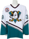 Hockey Collectibles:Uniforms, 2003 Petr Skora Stanley Cup Finals Game Worn Jersey....