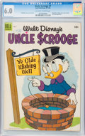 Golden Age (1938-1955):Funny Animal, Uncle Scrooge #7 (Dell, 1954) CGC FN 6.0 Off-white to white pages....