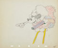 Animation Art:Production Drawing, Moose Hunters Animation Production Drawing Original Art(Walt Disney, 1937)....
