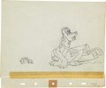 Animation Art:Production Drawing, Canine Caddy Animation Production Drawing Original Art Group(Disney, 1941).... (Total: 2 Items)