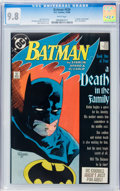Modern Age (1980-Present):Superhero, Batman #426 (DC, 1988) CGC NM/MT 9.8 White pages....