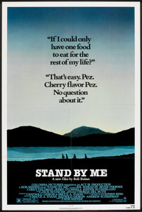 "Stand By Me (Columbia, 1986). One Sheet (27"" X 41""). Adventure"