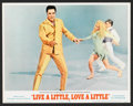 "Movie Posters:Elvis Presley, Live a Little, Love a Little (MGM, 1968). Lobby Card Set of 8 (11""X 14""). Elvis Presley.. ... (Total: 8 Items)"