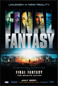 "Movie Posters:Animated, Final Fantasy: The Spirits Within (Columbia, 2001). One Sheet (27""X 40"") SS Advance. Animated.. ..."