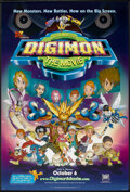 "Movie Posters:Animated, Digimon: The Movie (20th Century Fox, 2000). One Sheet (27"" X 40"") SS Advance. Animated.. ..."