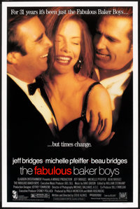 "The Fabulous Baker Boys (20th Century Fox, 1989). One Sheet (27"" X 41""). Romance"