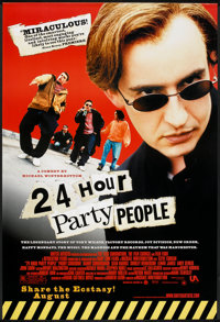 "24 Hour Party People (MGM, 2002). One Sheet (27"" X 40"") SS Advance. Drama"