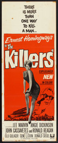 "Movie Posters:Crime, The Killers (Universal, 1964). Insert (14"" X 36""). Crime.. ..."