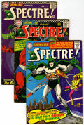 Silver Age (1956-1969):Miscellaneous, Showcase #60, 61, and 64 Spectre Group (DC, 1966).... (Total: 3)
