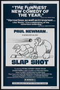 """Movie Posters:Sports, Slap Shot (Universal, 1977). One Sheet (27"""" X 41"""") Style B. Sports. Starring Paul Newman, Strother Martin, Michael Ontkean, ..."""