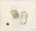 Animation Art:Production Drawing, Garfield and Friends Animation Drawing Original Art (PAWS,1995)....