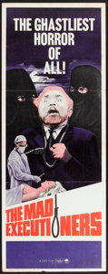 "Movie Posters:Crime, The Mad Executioners (Paramount, 1965). Insert (14"" X 36""). Crime.. ..."