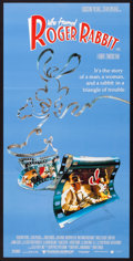 "Movie Posters:Animated, Who Framed Roger Rabbit (Roadshow, 1988). Australian Daybill (13"" X30""). Animated.. ..."