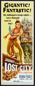 "Movie Posters:Adventure, Journey to the Lost City (American International, 1960). Insert(14"" X 36""). Adventure.. ..."