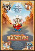 "Movie Posters:Animated, An American Tail: Fiefel Goes West (Universal, 1991). One Sheet(27"" X 41""). Animated.. ..."