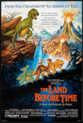 "Movie Posters:Animated, The Land Before Time (Universal, 1988). One Sheet (27"" X 41""). Animated.. ..."
