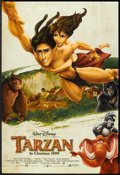 "Movie Posters:Animated, Tarzan (Buena Vista, 1999). British One Sheet (27"" X 40"") DS Advance. Animated.. ..."