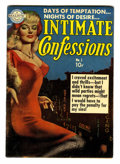 Golden Age (1938-1955):Romance, Intimate Confessions #1 (Realistic Comics, 1951) Condition:VG/FN....