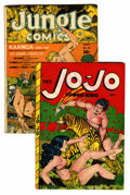Golden Age (1938-1955):Funny Animal, Jo-Jo Comics #20 and Jungle Comics #33 Group (Fox FeaturesSyndicate, 1942-48).... (Total: 2 Comic Books)