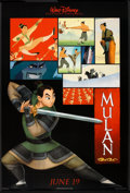 "Movie Posters:Animated, Mulan (Buena Vista, 1998). One Sheet (27"" X 40"") DS Advance. Animated.. ..."