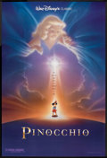 """Movie Posters:Animated, Pinocchio (Buena Vista, R-1992). One Sheet (27"""" X 40"""") DS Style B.Animated.. ..."""