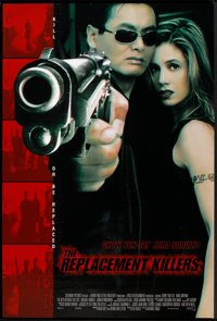 """The Replacement Killers (Columbia, 1998). One Sheet (27"""" X 40"""") DS. Action"""