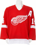 Hockey Collectibles:Uniforms, 2003-04 Brendan Shanahan Game Worn Jersey....